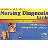 Nursing Diagnosis Cards by Sheila M. Sparks RN  DNSc  CS and Cynthia M. Taylor RN  MS