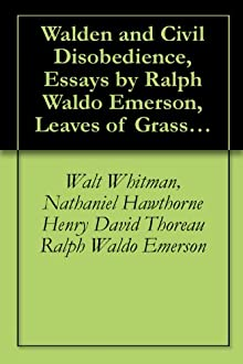 an analysis of the views of self by ralph waldo emerson and walt whitman Apush ch 11 people study play ralph waldo emerson transcendentalist, leading voice, unitarian walt whitman poet.