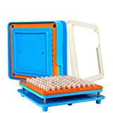 100 Holes (0#) Capsule Holder with Tamper for Size 0 Capsules Holding Tray Pill Dispensers & Reminders (Tamaño: 100pcs-0#)