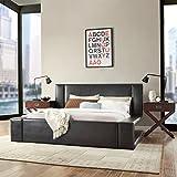 Home Creek Zola Bonded-Leather Platform Bed