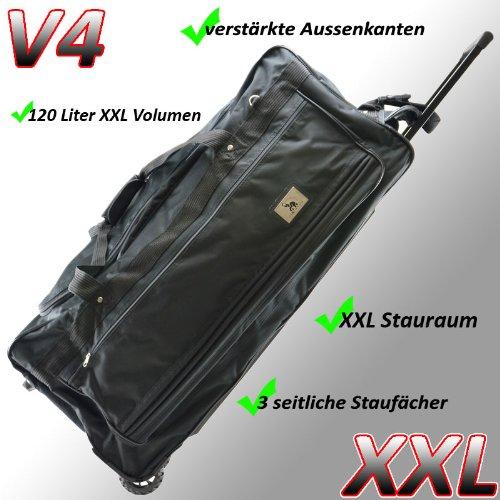 Reisetasche Jumbo Big-Travel 3 Rollen riesige
