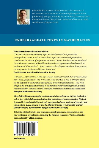 Mathematics and Its History (Undergraduate Texts in Mathematics)