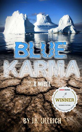 Blue Karma by J.K. Ullrich ebook deal