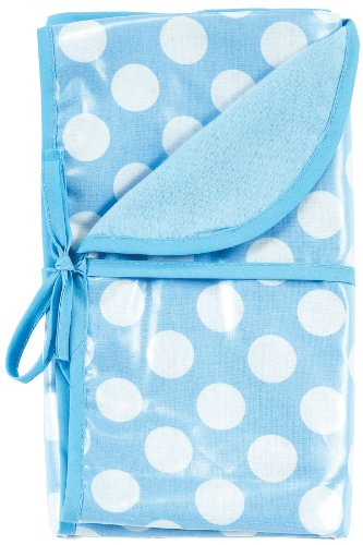 AM PM Kids! Reversible Blanket, Blue Dots