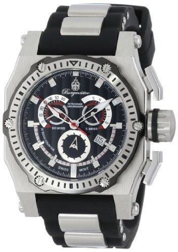 Burgmeister London BM157-121 Swiss ETA movement - Reloj de caballero de cuarzo (con cronómetro)