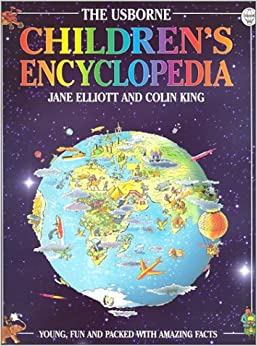 children s encyclopedia usborne encyclopedia series elliott 9780746039229