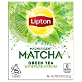 Lipton Green Tea Bags, Matcha Green Tea 15 ct (Pack of 4)