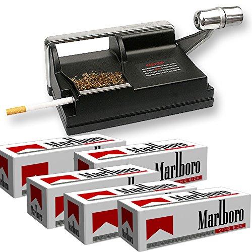 Powermatic Rollatore per sigarette con 1000 involucri