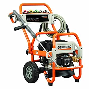 Generac 5993 3,100 PSI 2.8 GPM 212cc OHV Gas Powered Pressure Washer  (Older Model) (Discontinued by Manufacturer)