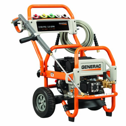 Generac 5994 3,100 Psi 2.8 Gpm 212Cc Ohv Gas Powered Commercial Pressure Washer (Carb Compliant) (Discontinued By Manufacturer)