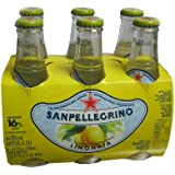 San Pellegrino Sparkling Beverage, Limonata, 6.5 Ounce (Pack of 6)