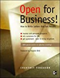 img - for Open for Business!: How to Write Letters That Get Results book / textbook / text book