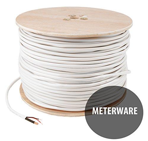 METERWARE Kabel Kombikabel für Videoüberwachung BNC + Strom RG59 HD-SDI Kabel