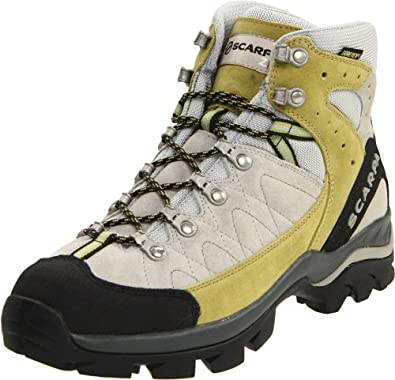 Scarpa Women's Kailash GTX Lady Hiking Boot,Light Gray/Ginko,38 EU (US Women's 7 M)