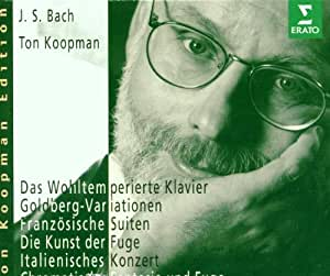 Bach: The Well-Tempered Clavier / Goldberg Variations / French Suites / Die Kunst Der Fuge / Italian Concert / Chromatic Fantasia and Fugue (Ton Koopman Edition)