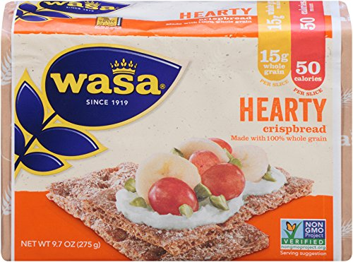 Wasa Hearty Crispbread, 9.7 Ounce Packages (Pack of 12) (Vasa Bread compare prices)