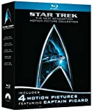 51Y1Zjf5K7L. SL160  Star Trek: The Next Generation Motion Picture Collection (First Contact /  Generations / Insurrection / Nemesis) [Blu ray]