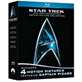 Star Trek: The Next Generation Motion Picture Collection (First Contact /  Generations / Insurrection / Nemesis) [Blu-ray] ~ Patrick Stewart