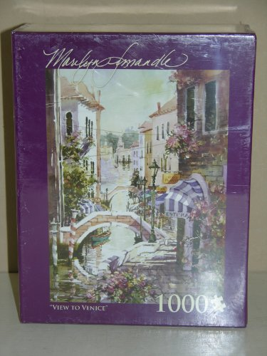Marilyn Simandle View to Venice 1000 Piece Jigsaw Puzzle