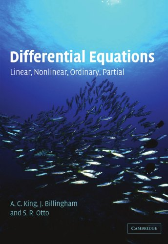 Differential Equations: Linear, Nonlinear, Ordinary, Partial
