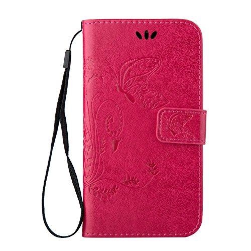 Cozy Hut Samsung Galaxy A7 (2016) A710 PU Housse,Slim-Fit Folio Smart Cuir Portefeuille Case Coque Etui pour Samsung Galaxy A7 (2016) A710,Fleur de