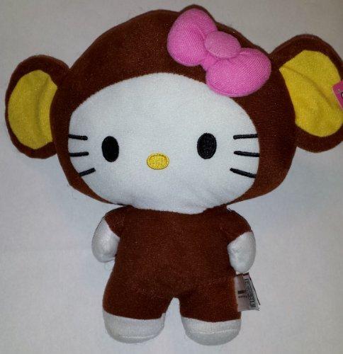 Large-10-Chimp-Monkey-Hello-Kitty-Big-Top-Circus-Animal-Plush-Doll