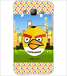 PrintDhaba Angry Bird D-2815 Back Case Cover for SAMSUNG GALAXY J2 (Multi-Coloured)