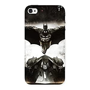Ajay Enterprises Fill Knight Ride Back Case Cover for iPhone 4 4s