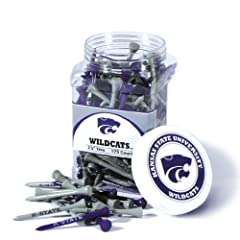 Brand New Kansas State University Wildcats 175 imprinted Tee Jar by Things for You