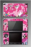 My Little Pony MLP Friendship is Magic Pinkie Pie Equestria Girls Cartoon Movie Fluttershy Video Game Vinyl Decal Skin Cover Protector Sticker for Nintendo 3DS