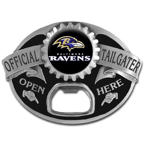 NFL Baltimore Ravens Tailgater Buckle