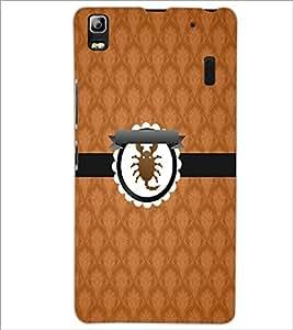 PrintDhaba Zodiac Cancer D-3535 Back Case Cover for LENOVO K3 NOTE (Multi-Coloured)