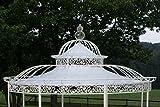 CLP Dach für Luxus Pavillon ROMANTIK (Durchmesser: 350 oder 500 cm), Wasserdichte PVC Plane 500 cm, creme