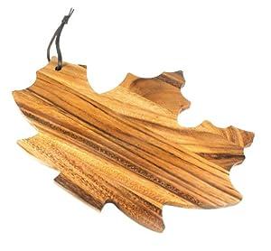 Ironwood Gourmet Prep Cutting Board, Maple Leaf