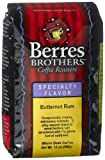 Berres Brothers Coffee Roasters Butternut Rum Coffee, Whole Bean, 12-Ounce Bags (Pack of 3)
