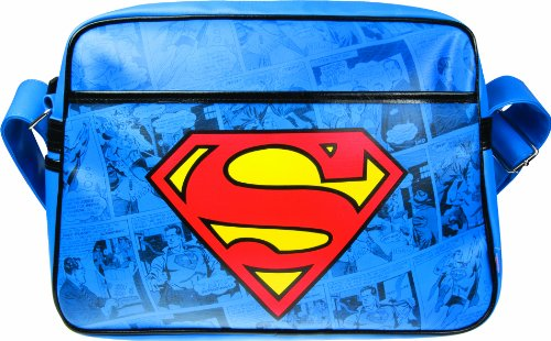 Superman Retro Style Shoulder / Sports Bag