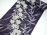 紫織庵の浴衣反物 女性用 綿絽生地