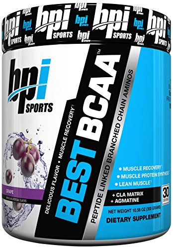 BPI Sports Best BCAA Powder, Grape, 10.58 Ounce (Bcaa Grape compare prices)
