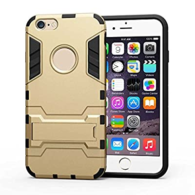 iPhone 5 Case, Siwei TPU Rubber Durable Plastic Armor Iron Man Phone Case with Kickstand for iPhone 5,iPhone 5S, iPhone SE case from Siwei International
