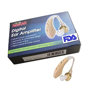 "EarTM High Quality Digital Ear Hearing Amplifier ""FDA Approved"" by NewEar"