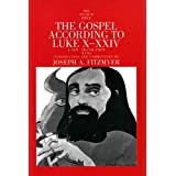 The Gospel According to Luke X-XXIV (Anchor Bible Commentaries)by Fitzmyer