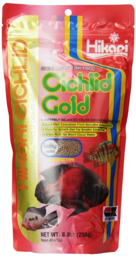 Hikari Cichlid Gold Floating Baby Pellets For Pets, 8.8-Ounce