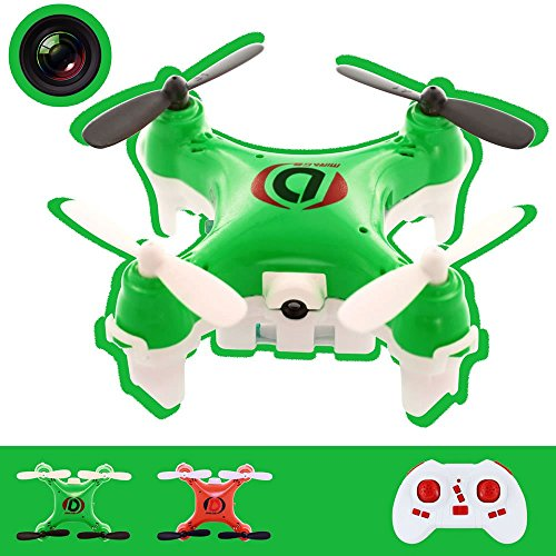 RC Quadcopter Drone, Skque® 2.4GHz 4 Channel 6 Axis RC Remote Control Quadcopter Drone with Camera, Green (Camera Chopper Remote Control compare prices)