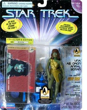 "Star Trek Vina as Orion Animal Woman 4.5"" Action Figure - 1"
