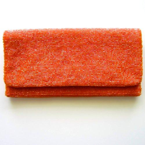 MoynaMoyna Orange Clutch