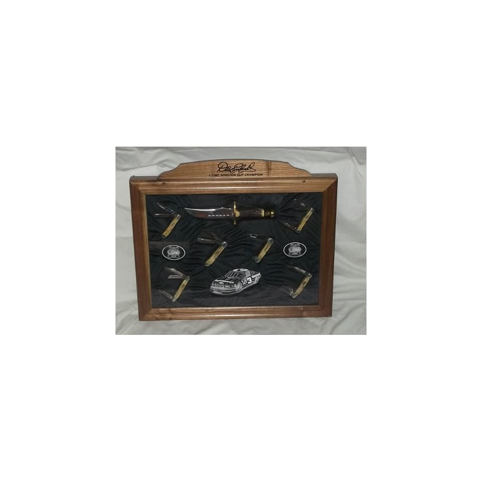 Dale Earnhardt 6 Time Champion Case Knife Set