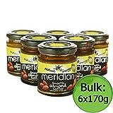 Meridian Almond Butter, Natural 6x170g
