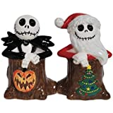 NBX Holiday Jack Skellingtons Salt and Pepper Shakers