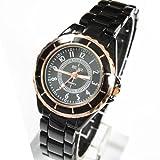 AC-W-JH24-S セラミック調腕時計 レディース腕時計 Bel Air collection[ベルエアコレクション] [並行輸入品] ブラック
