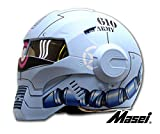 Masei フルフェイスへルメット ロボヘル610Z ブルーHELMET L MA-610Z-L-L